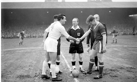 Shake hands football