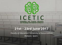 Innovative and Creative Education and Teaching International Conference (ICETIC)