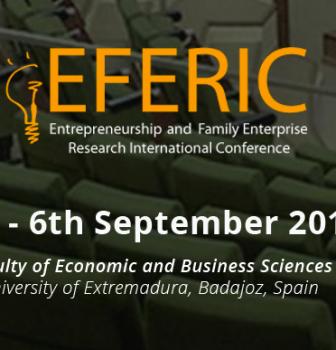 Entrepreneurship and Family Enterprise Research International Conference (EFERIC)