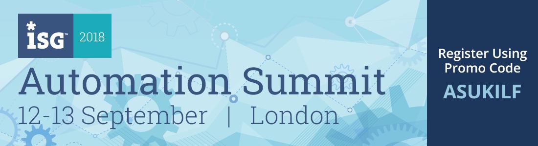 ISG Automation Summit London