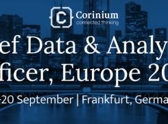 Chief Data & Analytics Officer, Europe 2018