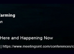 World Summit on Climate Change & Global Warming