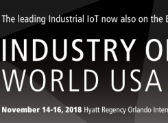 Industry of Things World USA East 2018