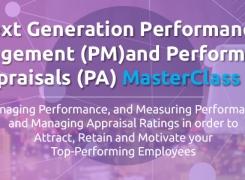 Next Generation Performance Management and Performance Appraisals MasterClass 2.0