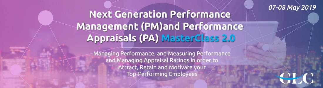 Next Generation Performance Management and Performance Appraisals MasterClass 2.0