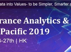 Insurance Analytics & AI Innovation Asia Pacific 2019