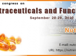 2nd World Congress on Advanced Nutraceuticals and Functional Foods