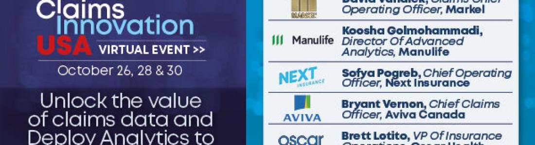 Claims Innovation USA: Virtual Event