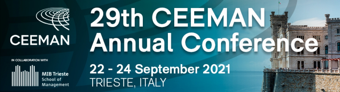 """29th CEEMAN Annual Conference """"Management Education at the Crossroads"""