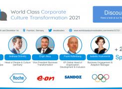World Class Corporate Culture Transformation 2021 in Frankfurt