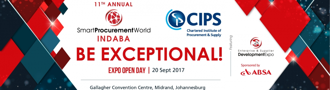 11th Annual Smart Procurement World Indaba / CIPS Pan African 2017