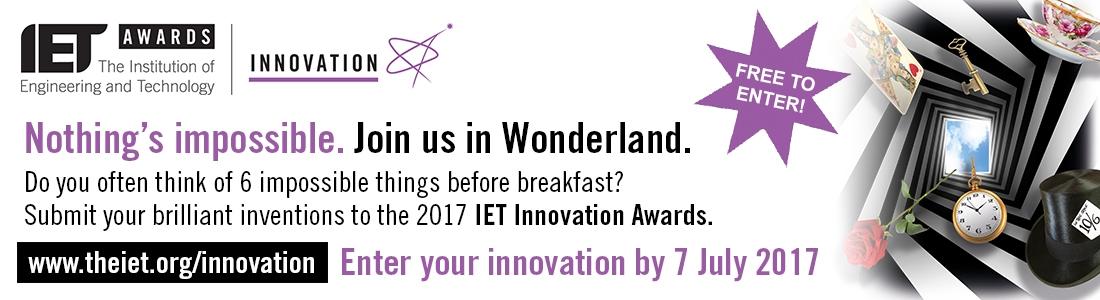 The 2017 IET Innovation Awards