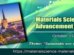 31st Materials Science and Engineering Conference: Advancement & Innovations